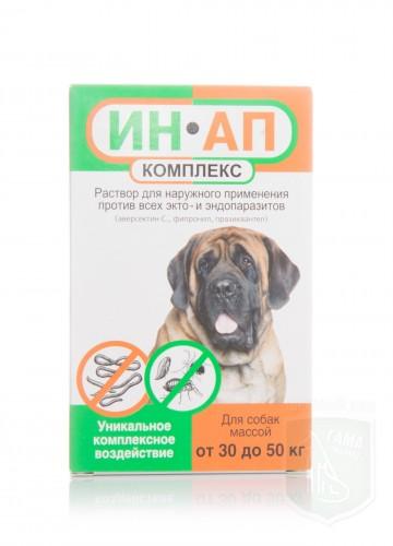 Ин-Ап комплекс для собак 30-50 кг, 5 мл