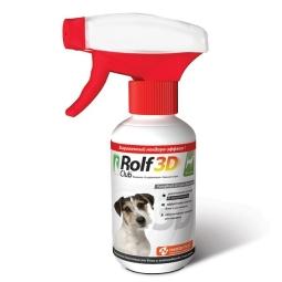 РольфКлуб 3D Спрей д/собак инсектоакарицидный (фипронил), 200 мл R422(кор/15шт)