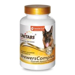 ЮНИТАБС Витамины д/мелких собак, 100табл BrewersComplex с Q10 U203 (кор/12 шт)