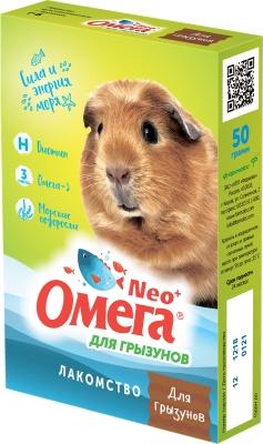Омега NEO + д/грызунов с биотином, 50 г (упак/5 шт)