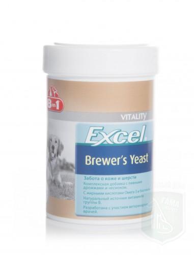 Витамины с пивными дрожжами и чесноком Brewers Excel Yeast для собак 260 таб