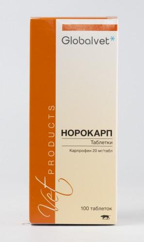 Норокарп (20 мг х 100 табл.)