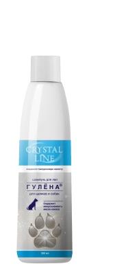 Гулена CRYSTAL LINE шампунь для лап, 200мл