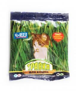 Травка для кошек в пакете, 30г
