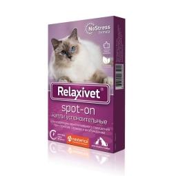 РЕЛАКСИВЕТ Spot-on д/кошек успокоительный, 4 пип  Х105 (кор/16 шт)