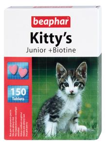 Беафар Витамины KITTY S JUNIOR д/котят 150таб