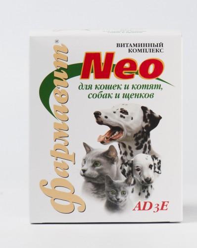 Фармавит NEO для кошек и котят, собак и щенков
