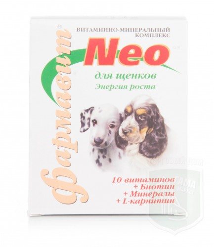Фармавит NEO энергия роста щенков, 60 табл.