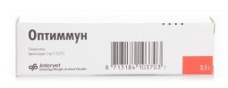 Мазь глазная Оптиммун 3.5 г тюбик