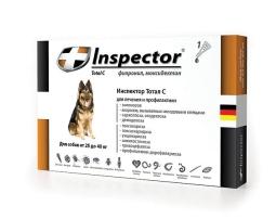 Инспектор капли д/собак 25-40 кг. 1 пипетка