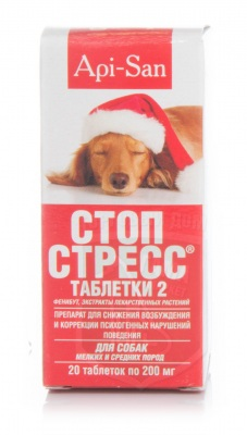 Стоп-стресс, 20 табл. д/собак до 30 кг