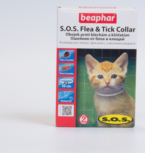 Беафар ошейник SOS д/котят
