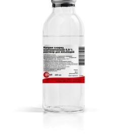 Натрия хлорид БАГ 0,9% 200 мл