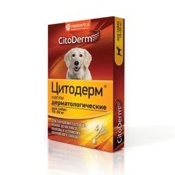 ЦИТОДЕРМ Капли дерматологические д/кошек и собак 10-30 кг 4 пип D102