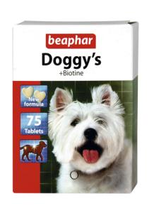 Беафар Витамины DOGGY S+ BIOTIN для собак  75 таблеток