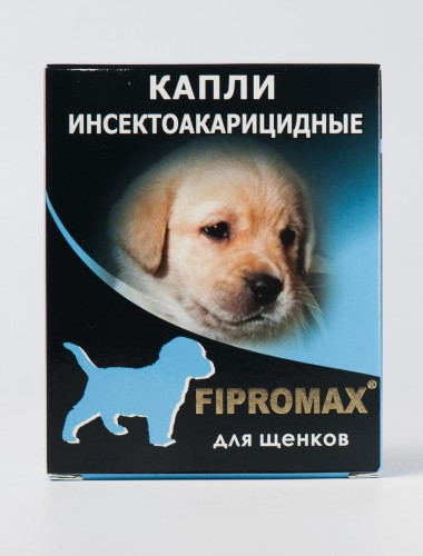 Деликс FIPROMAX капли для щенков, упаковка 4 пипетки