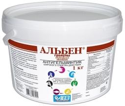 АЛЬБЕН гранулы, 1 кг