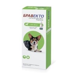 БРАВЕКТО Спот ОН д/собак 10 -20 кг,1 пип*500 мг (бокс/10 уп)