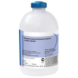 Вакцина против рожи свиней и болезни Ауески ГОА (флакон 100 мл/50 доз)