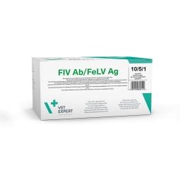 Тест для выявления вирусного иммунодефицита и лейкемии FIV Ab/FeLV Ag (5 шт)
