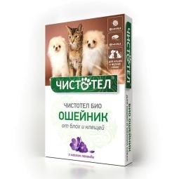 Чистотел Био Ошейник с лавандой д/кошек и мелких собак 35см