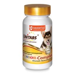 ЮНИТАБС Витамины д/щенков, 100таб JuniorComplex U207 (кор/8 шт)