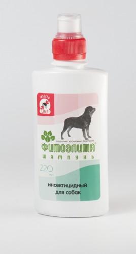 Шампунь фитоэлита инсектицидный для собак, 220 мл