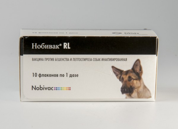 Нобивак RL, 10 доз