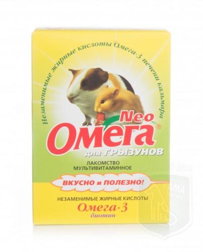 Омега NEO для грызунов с биотином, 50 г