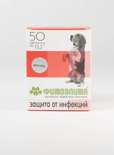 Фитоэлита - Защита от инфекций для собак
