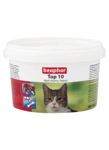 Беафар Витамины Тор 10 для кошек  180 таблеток