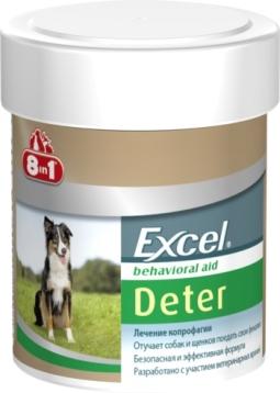 8 в 1 DETER Средство д/щенков и собак от поедания фекалий, 100 таб