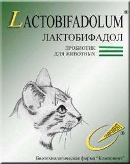 Лактобифадол Форте для кошек, 50г