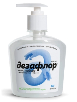 Дезафлор Жидкое мыло, 400 мл