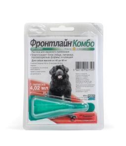 Фронтлайн КОМБО капли д/собак XL,40-60 кг
