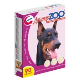 Доктор ЗОО В/собак Говядина, 90таб