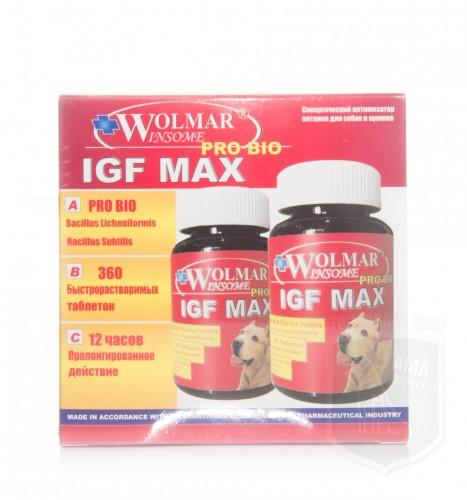 Wolmar Winsome Pro Bio IGF MAX, 360 таб