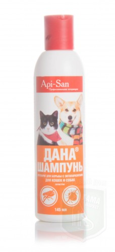 Дана шампунь д/кошек и собак, 150 мл
