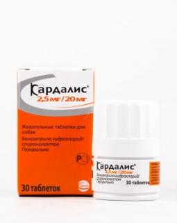 Кардалис, 2,5 мг/20 мг (30 таб)