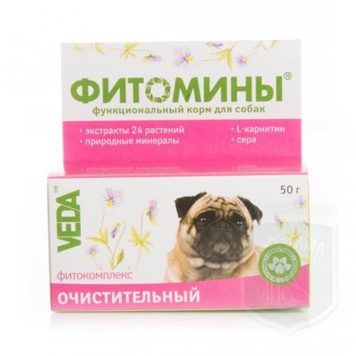 Очистит фитокомплекс д/собак, 50 г гранулы