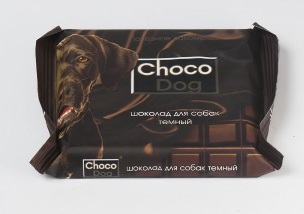 шоколад CHOCO DOG темный, 85 г