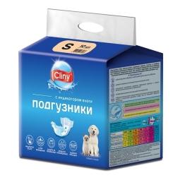 КЛИНИ Подгузники д/собак и кошек S 3-6 кг К201