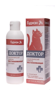 Шампунь ДОКТОР ВОССТАНАВЛИВАЮЩИЙ для кошек, 200мл