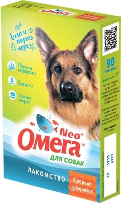 Омега NEO+ д/собак с водорослями Крепкое здоровье 90 таб (уп/5шт)(кор/50шт)