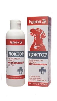 Шампунь ДОКТОР ВОССТАНАВЛИВАЮЩИЙ для собак, 200мл