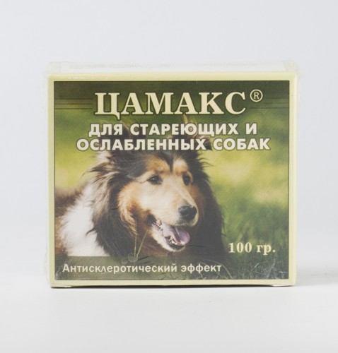 Цамакс для стареющих и ослабленных собак, 100 г