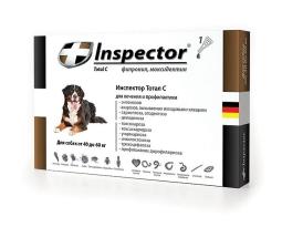 Инспектор капли д/собак 40-60 кг. 1 пипетка