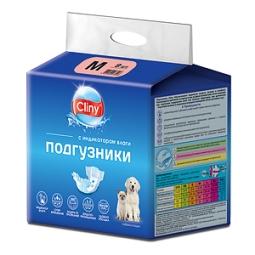 КЛИНИ Подгузники д/собак и кошек М 5-10 кг, №9