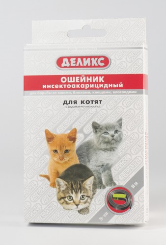 Деликс ошейник для котят