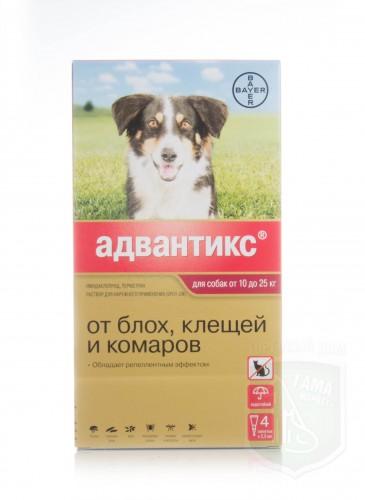 Адвантикс 250 для собак 10-25 кг
